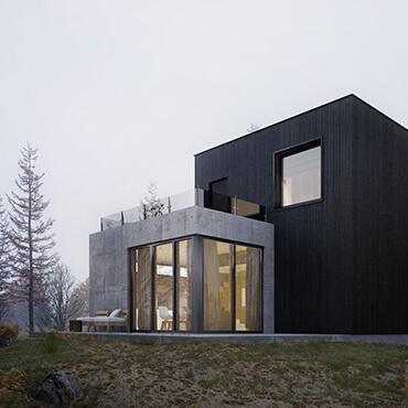 Small House Near Wroclaw